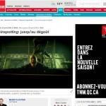 Trainspotting - Critique de La Presse Avril 2016