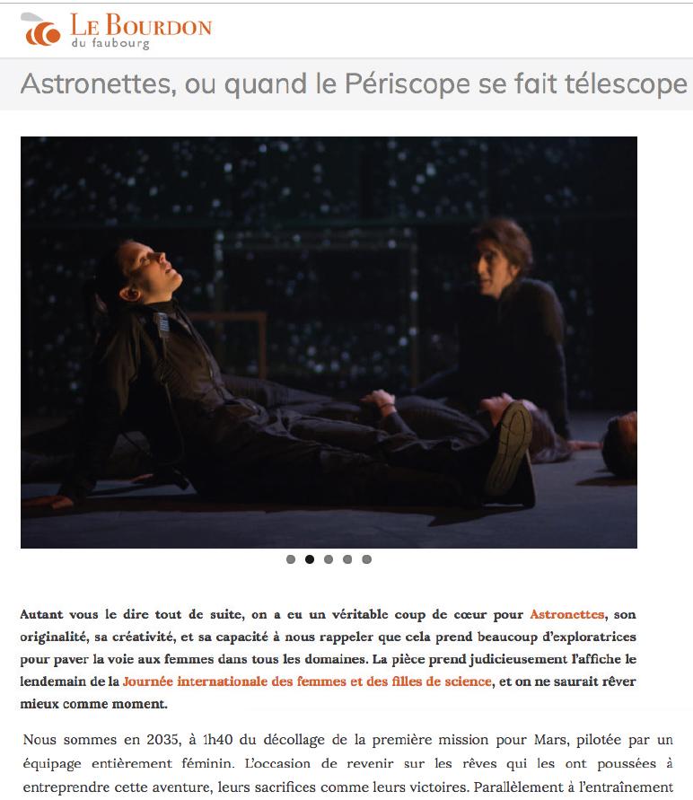 Astronettes - Le Bourdon Février 2019