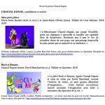 Revue de presse - Chantal Dupuis - 2021