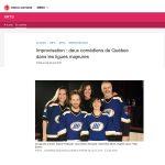 Sophie Caron LNI Radio-Canada Avril 2019